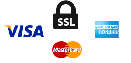 SSL - Visa, Mastercard and AMEX